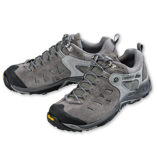 Zamberlan®-Sneaker, Damen oder Herren Der perfekte Schuh auf Reisen. Bequem, robust, wasserdicht, leicht und atmend.