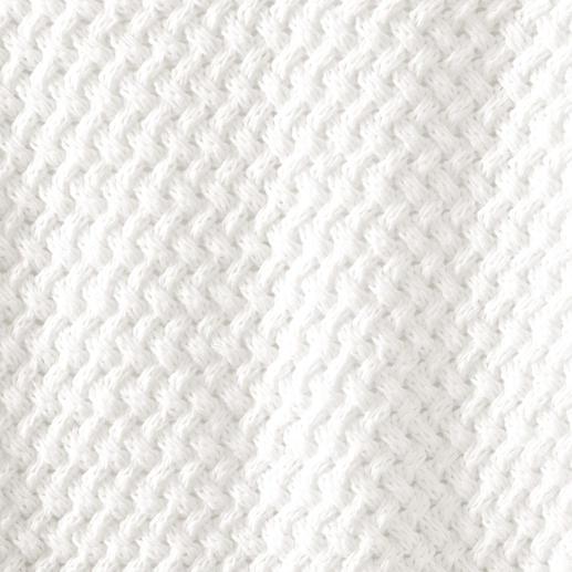 Saint James Korbflecht-Pullover Der Pullover mit seltenem Korbflecht-Muster: Voluminöse, plastische Struktur. Sommerleichtes Material.