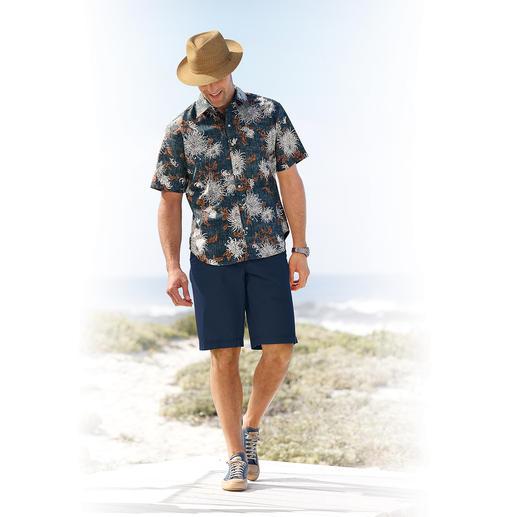 "Reyn Spooner Hawaii-Hemd ""Chrysanthemen"" Original Hawaii-Hemd von Reyn Spooner - mit dezentem Chrysanthemen-Muster. Hergestellt auf Hawaii."