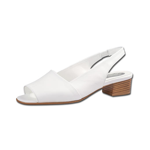 Die perfekte Sandalette kommt aus Italien: Zeitloses Design. Seit fast 30 Jahren vollendete Passform. Die perfekte Sandalette:Zeitloses Design. Seit über 20 Jahren vollendete Passform. Ideal zu allen Sommer-Looks
