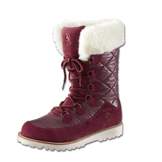 Aigle Snow-Fell-Boot, Rosine Geringes Gewicht. Gelungenes Design. Und doch ein 100%iger Outdoorstiefel.