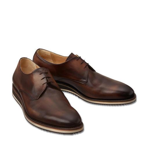 Cordwainer Derby-Sneaker Korrekt wie ein klassischer Business-Schuh. Aber bequemer, moderner und vielseitiger.