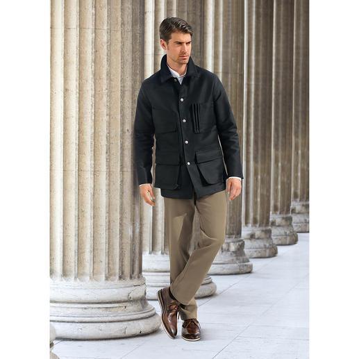 """Hollington Moleskin-Jacke """"Armentière"""" - Unverwüstlicher Stoff, unzerstörbares Design. Die Jacke aus echtem Armentière-Moleskin."""