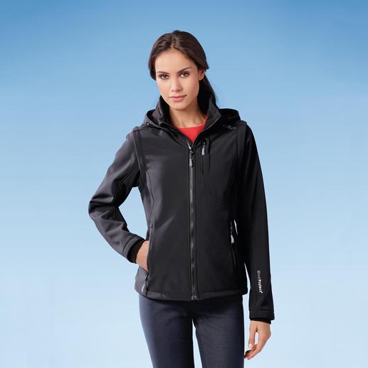 Softshell-Damenjacke Jacke aus Softshell, mit WindProtect®. Schlank, leicht und trotzdem warm.