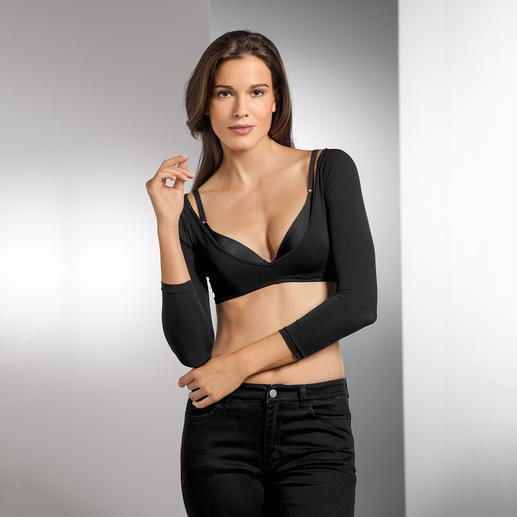 Barbara Schwarzer Unterzieh-Shirt Perfekter Partner ärmelloser Kleider & Tops. Wärmt und bedeckt, ohne zu verhüllen.
