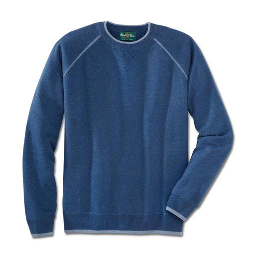 Alan Paine Kaschmir-Sweatshirt Bequem wie Ihr Lieblings-Sweatshirt. Aber aus feinstem mongolischen Kaschmir.