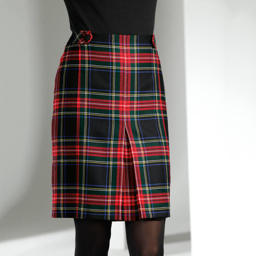 Black Stewart Tartan-Rock - Nicht irgendein Karo-Muster, sondern das original Black Stewart Tartan aus Schottland.