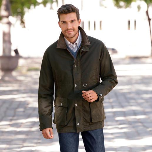 """Cotton-Wax-Parka """"waterproof"""" - Der typische Charakter einer rustikalen Wachsjacke. Mit allen Vorzügen moderner Funktionskleidung."""