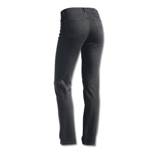 Kaschmir-Luxusjeans Die Luxus-Jeans mit feinstem Kaschmir. Softer Griff. Seidige Optik. Gepflegter Look.
