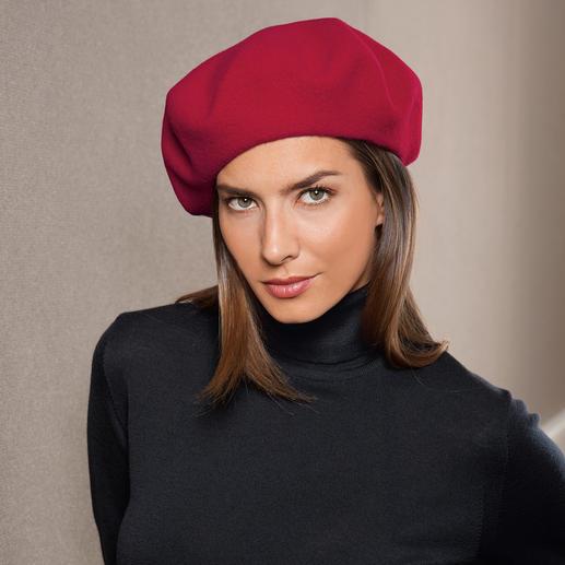 Laulhère Baskenmütze 100 % französische Baskenmütze.