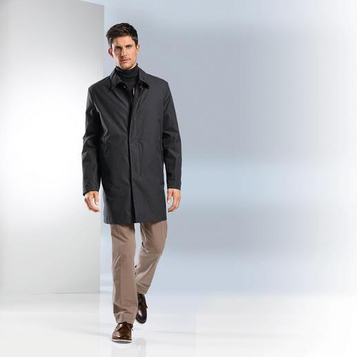 Ventile® Car-Coat Von Natur aus wasserdicht: Ventile®, das älteste Funktionsgewebe aus reiner Baumwolle.