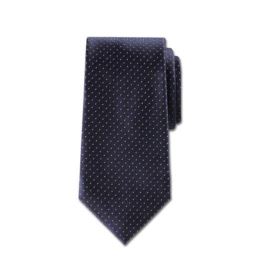 """Ascot Seidenkrawatte """"Kaviartupfen"""" Kaviartupfen: das wohl edelste und anpassungsfähigste Krawattendessin."""