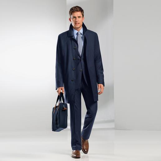 Eduard Dressler Zelander®-Wollmantel - 600 g leicht. Reine Schurwolle, dennoch wasserabweisend. Der perfekte Mantel für die Übergangszeit.