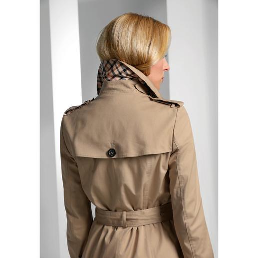 DAKS Trenchcoat Mode-Comeback Trenchcoat: Das Original von DAKS ist eine Investition fürs Leben.