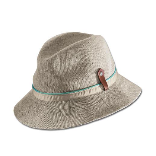 Kangol® Sommer-Strickhut Der Schönwetter-Hut vom britischen Traditions-Hersteller Kangol®, seit 1938. Aus luftigem Strick.