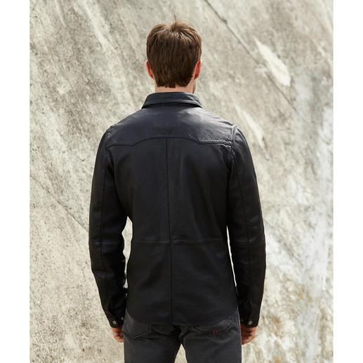 Arma Lammnappaleder-Hemd Ein modisches Lederhemd, aus softem Lammleder, exquisit verarbeitet.