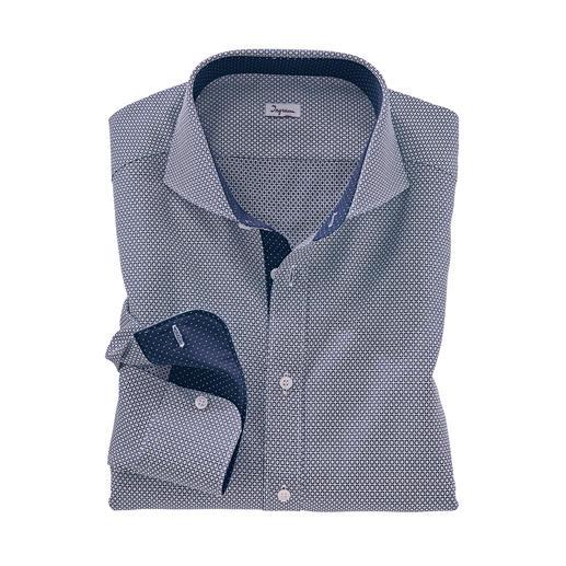 """Ingram Jacquard-Hemd """"Krawattendessin"""" Das außergewöhnlich plastische, dreidimensionale unter den aktuellen Krawattendessins."""
