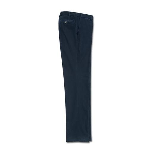 Hiltl Supima®-Canvas-Hose - Die Canvas-Hose aus extra sanfter, extra starker Supima®-Baumwolle. Von Hiltl/Deutschland.