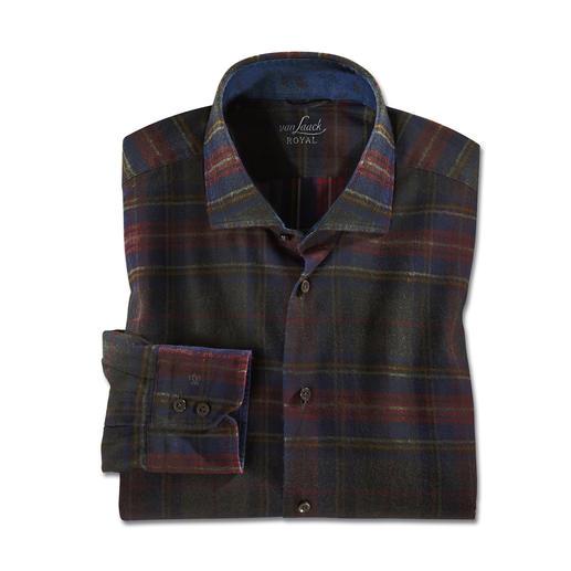 van Laack Coated Karo Hemd, Slim Fit - Klassisches Karo, behutsam modernisiert von van Laack.