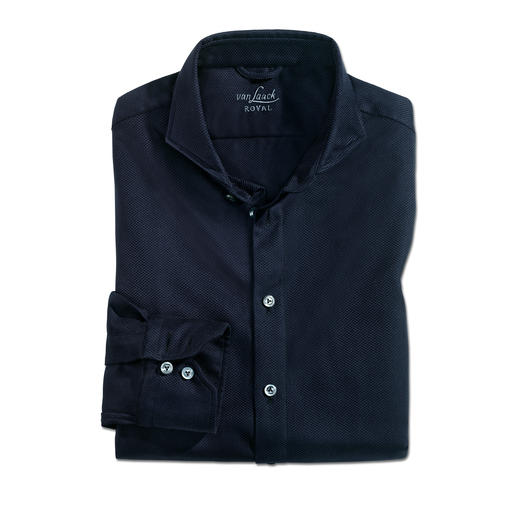 van Laack Winter-Panama-Hemd Hemdenspezialist van Laack macht einen beliebten Sommer-Klassiker wintertauglich.