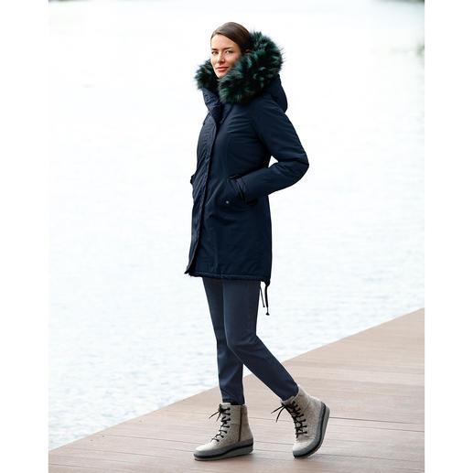CANADIAN CLASSICS Fake-Fur-Parka Kaum von echtem Pelz zu unterscheiden. Der Parka mit kuscheligem Fake-Fur de luxe.