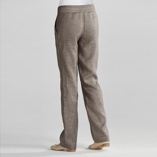 Business-Leinenhose So schweres Leinen knittert weniger. Die Leinenhose fürs Business: lässig, luftig, figurgünstig.