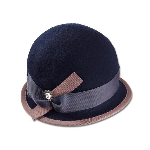 Ellen Paulssen Walk-Hut Elegant wie ein Hut. Unkompliziert wie eine Mütze. Aus weichem Woll-Walk.