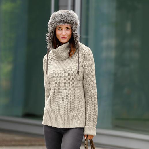 neyo Grobstrickpulli - Slow Fashion: Angesagt grob gestrickt, aber auf traditionelle Art. Und unter fairen Bedingungen. Von neyo.