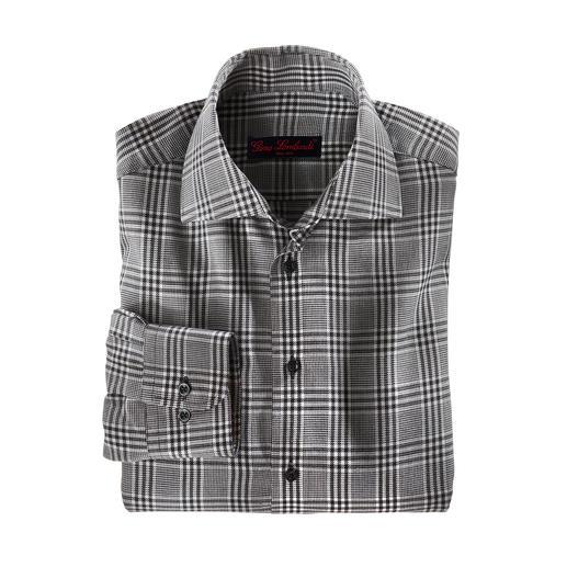 Kaschmir-Flanellhemd Luxuriöse Rarität: Das Winterhemd mit feinstem Kaschmir. Angenehm wärmend. Wunderbar weich. Erfreulich günstig.
