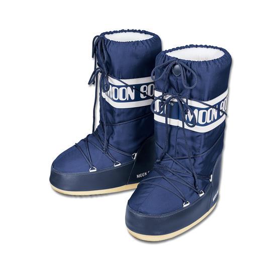 Original Moon Boot® - Unverwechselbar klobige Form, aber dennoch federleicht: der original Moon Boot®.