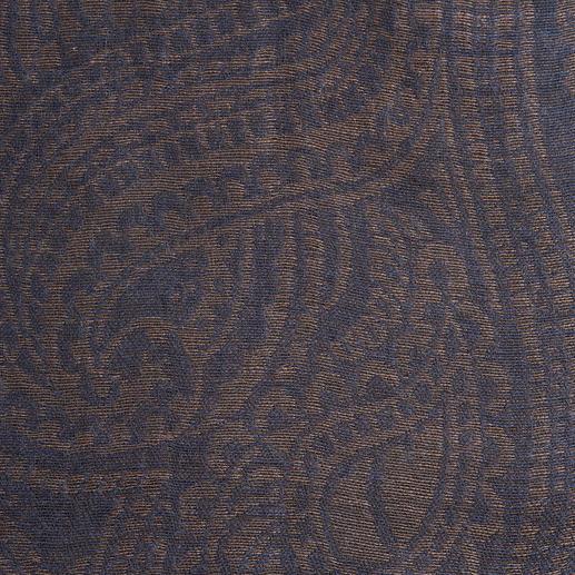 Paisley-Ganzjahres-Schal Der perfekte Ganzjahres-Schal. Zeitlose Farben. Und nie zu warm oder zu kalt.