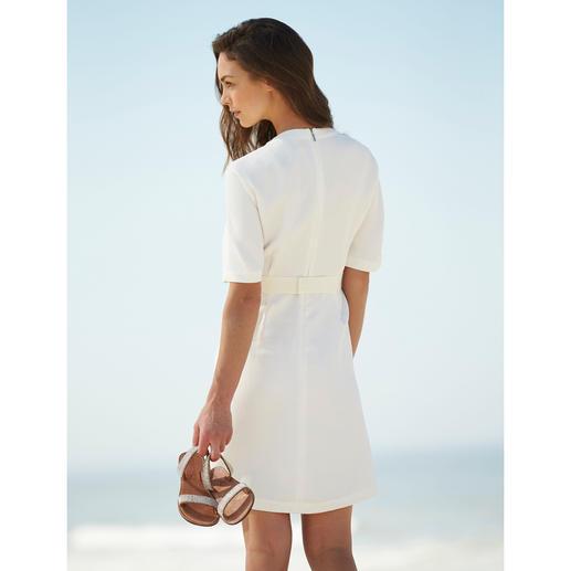 """Strenesse Kleid """"White Elegance"""" Eleganter und vielseitiger als die meisten weißen Sommerkleider. Perfektes Material. Cleaner Schnitt."""