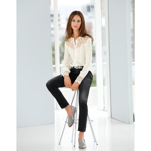 Silver® Jersey-Jeans, Anthrazit Authentische Jeans-Optik. Aber mit Yoga-Pants-Feeling. Selten gut gelungen bei Silver®, Kanada.