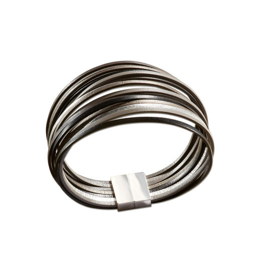 Schwarz/Silber
