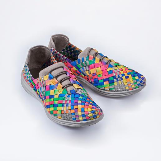 "Bernie Mev. Flecht-Sneaker Flecht-Sneaker vom ""King of woven Footwear"". Bequemer, leichter und luftiger können modische Sneaker kaum sein."