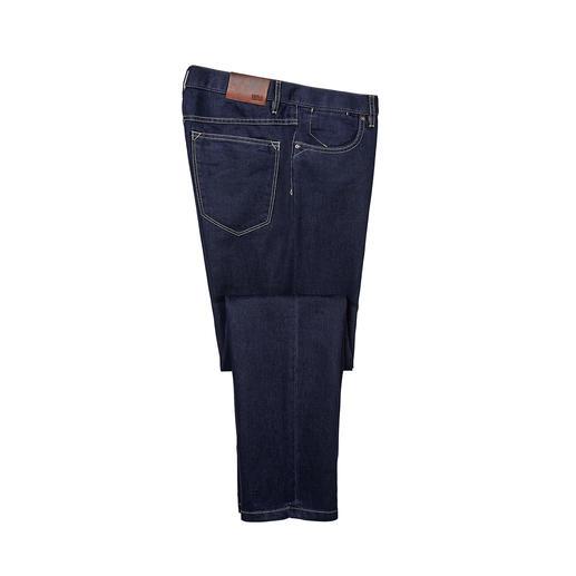Hiltl Seiden-Jeans Veredelt mit Seide: die sommerleichte Luxus-Jeans. Glatter. Weicher. Luftiger. Salonfähiger. Von Hiltl.