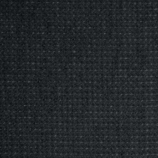 Hollington Waffelpiqué-Weste Die stilvolle schwarze Weste, in der Sie cool durch den Sommer kommen. Luftiger Waffelpiqué. Frischer Materialmix.