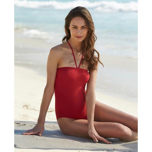 Iodus Vario-Bikini - Mit einem Handgriff vom Bikini zum Badeanzug. Der wandlungsfähige Vario-Bikini von Iodus, Paris.