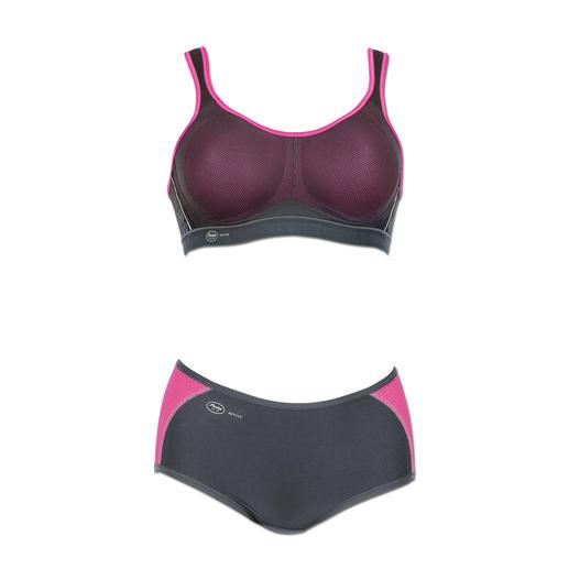 """Anita Sport-BH oder -Panty """"air control"""" Leicht und weich wie ein T-Shirt-BH. Stützend wie ein High-Impact-Sport-BH."""