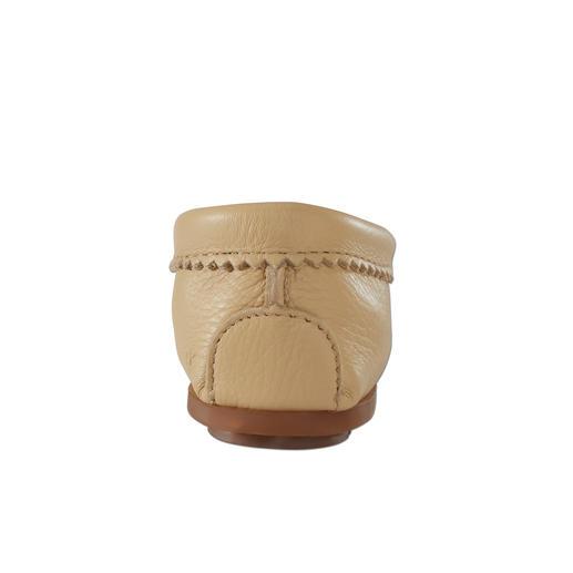 Minnetonka® Hirschleder-Perlen-Mokassin Original Minnetonka®: nach alter indianischer Tradition als echter Mokassin gearbeitet. Laufen wie auf Moos.