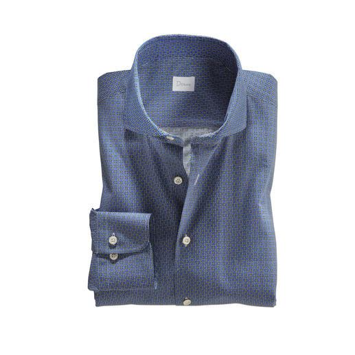 Dorani Grafikhemd - Wenn Retro-Look, dann stilvoll: das zeitgemäß dezente Grafikhemd. Modisch. Elegant. Und sogar Anzug-kompatibel.