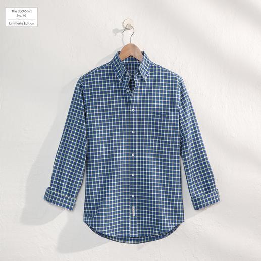 The BDO-Shirt No. 40, Kariert - Entdecken Sie einen guten alten Freund. Und vergessen Sie, dass ein Hemd gebügelt werden muss.
