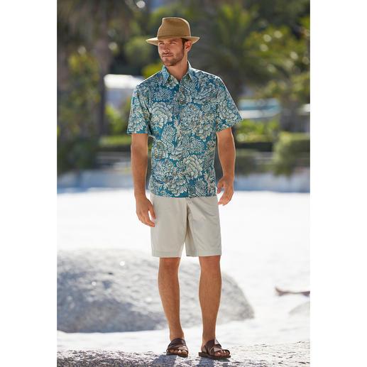 """Reyn Spooner Hawaii-Hemd """"AKO'AKO'A"""" Ihr Hawaii-Hemd sollten Sie auf Hawaii kaufen. Oder... Das Hemd von Reyn Spooner. Hergestellt auf Hawaii."""