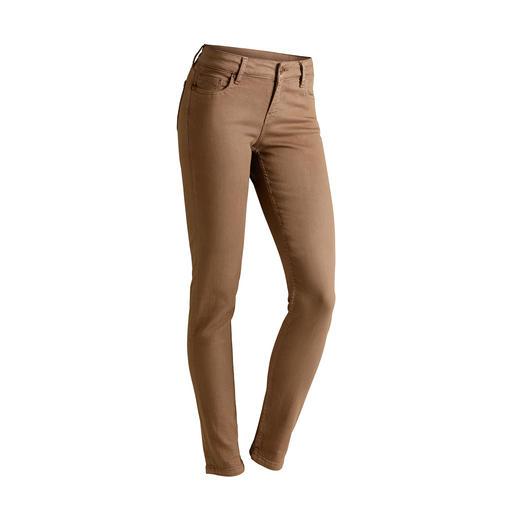 "Strenesse Business-Jeans ""Camel"" - Aktueller Camel-Ton. Cleaner Schnitt. Perfekte Passform. Von Strenesse."