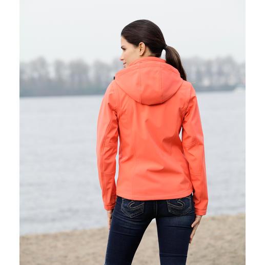 Softshell-Jacke Jacke aus Softshell, mit WindProtect®. Schlank, leicht und trotzdem warm.
