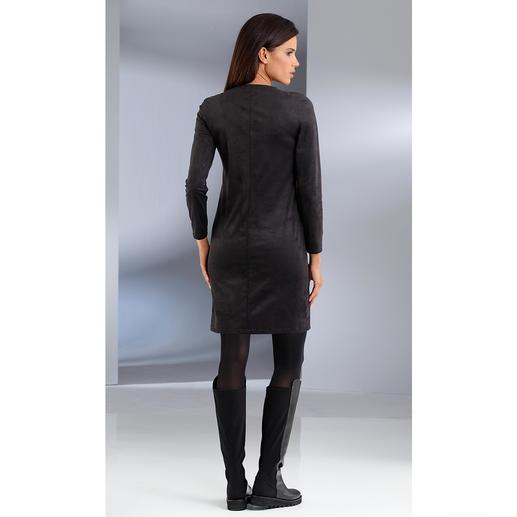 Alcantara®-Kleid Die trendige Optik von Veloursleder. Aber maschinenwaschbar.