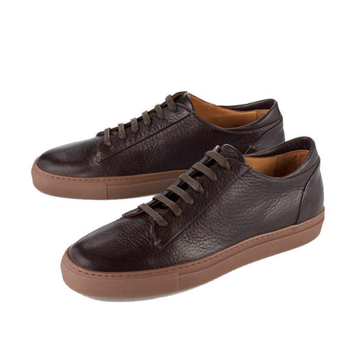 Bernacchini 1905 Kalbleder-Sneaker - Aktuelle Retro-Form. Softes Kalbleder. Made in Italy. Bezahlbarer Luxus von Bernacchini 1905.
