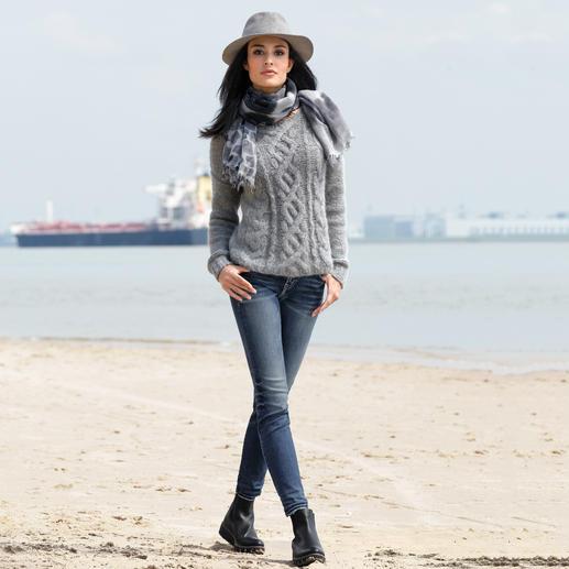 Silver Skinny-Jeans Avery