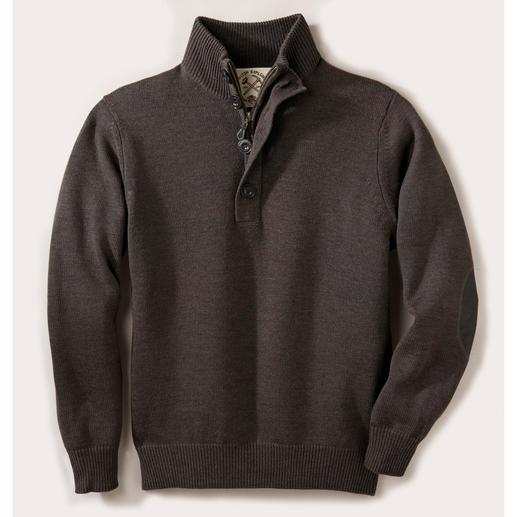 Alan Paine Teflon®-Outdoor-Pullover - Reine Merinowolle, wasserabweisend durch dauerhaften Teflon®-Schutz. Der ideale Pullover für drinnen und draußen.
