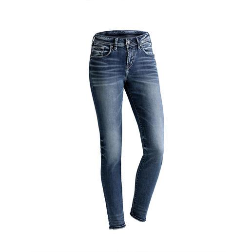 """Silver Skinny-Jeans """"Suki"""" Die original Silver Jeans aus Kanada: Perfekter Sitz. Unverwechselbarer Stil."""